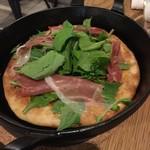 PIZZA &TAPAS cibo - 生ハムルッコラビザ(税込1200円)