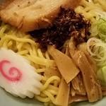 あぶらー亭 - あぶら~麺+半カレーセット 2017.3