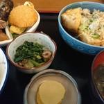あい吉 - 料理写真:あげだし豆腐定食(700円)