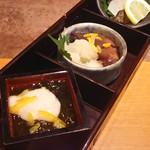 佐渡島へ渡れ - 珍味3種