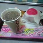 ロッテリア - エビバーガーセットポテト付き 410円+80円