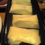 6483960 - オーブンで焼いてるラクレットチーズ