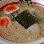 東京発祥豚骨ラーメン 哲麺縁 - 味玉ラーメン(620円)