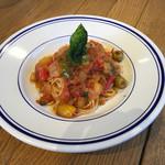 CAFE M - いろいろ野菜のトマトソースPasta