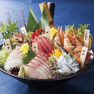 契約水産業者より新鮮な魚を直送!