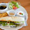 cafe 風車の丘 - 料理写真:風車の丘プレートセット ツナサンド