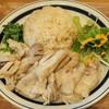 プーケット オリエンタル - 料理写真:カオマンガイ、具大盛り、キュウリはつかない