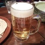 ネパリダイニング ダルバート - 生ビール