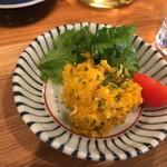食堂たんと - かぼちゃのマスタードサラダ