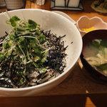 6484008 - サンマ酢〆薬味丼