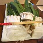 小尾羊  - 野菜と茸の盛り合わせ