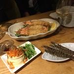 活海老バル orb Resort - 海老フライとポテトサラダ