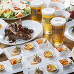 ブルワリー レストラン オラホ - ご宴会プラン、盛込み料理