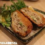 ひびき庵 別館 - 彩の国黒豚 キャベツメンチ