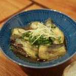 蕎麦・酒・料理 壱 - なす煮ひたし