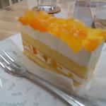 カフェ&ダイニング レジェンド - リンゴと桃のケーキ