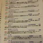 LBK CRAFT - 今夜の10TAPメニュー