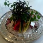 64848640 - 季節野菜のバーニャカウダ カーザヴィニタリアスタイル