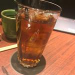 焼肉とビール 市場小路 - ウーロン茶(¥290)