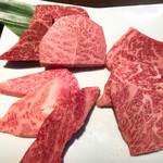 グリエ タニグチ - 料理写真:谷口牛味わいプレート すんげぇサシやわぁ(゚o゚;;