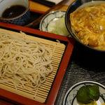 うえ竹 - せいろカツ丼セット
