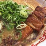 柊 - トロトロ炙りチャーシュー串(大宮そごう「天空のラーメン博」)