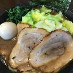 麺匠 文蔵 - 真、麺かため(1,030円)