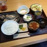 げんき食堂 WAKU家 - 朝食の「和食 (680円)」