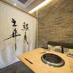 近江牛一筋 農家レストラン だいきち - 料理写真:レストラン テーブル席