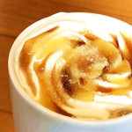 タリーズコーヒー - バニラクレームブリュレラテ