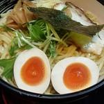 髭 - えび塩つけ麺 温盛 麺増量 300g 1050円