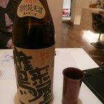 新鮨し - 大分の地酒「鷹来屋 特別純米」