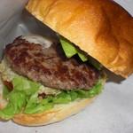 オーガニック バーガー キッチン - アボカドたっぷり