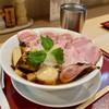 燃えよ麺助 - 料理写真:■特製金色貝そば 990円