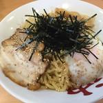 油そば みや寺 - 料理写真:油そば半熟玉子入り 750円(麺大盛無料)