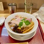 燃えよ麺助 - ■紀州鴨そば 870円