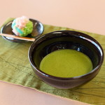 長久堂 - 生菓子と抹茶セット