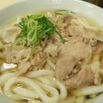 本場さぬきうどん 親父の製麺所 - 肉うどん!!