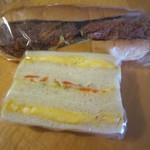 サンドウィッチパーラーまつむら - サンドイッチとコロッケサンド