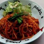 151A  - 料理写真:ナポリタン大盛り300g800円