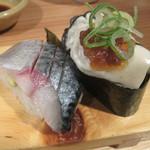 64867261 - 生牡蠣(地元産)と生さば(長崎産)