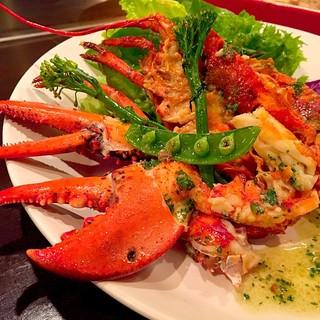 Dining Sochi - オマール海老の香草バター焼き