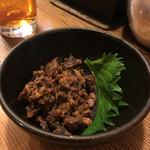 征乃屋 - 料理写真:もつ煮