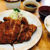 タケ馬 - 料理写真:200gロースかつ定食 1560円