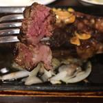 いきなりステーキ - 焼き加減はミディアムで