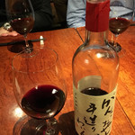 キュイジーヌ・ド・オオサカ・リョウ - 赤ワイン「がんこおやじの手造りわいん」仲村ワイン工房