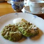Cream Tea - スコーン・抹茶ミルク
