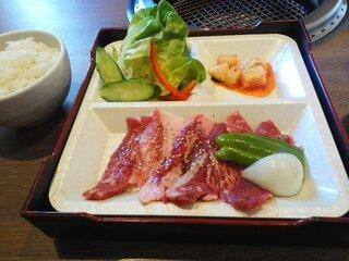 北海道焼肉 プライム - 北海道カルビ定食
