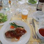 四季の香り - 料理写真:コース料理(肉)&キリン一番搾り中瓶