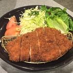 黒豚料理 あぢもり - 黒豚ロースカツ